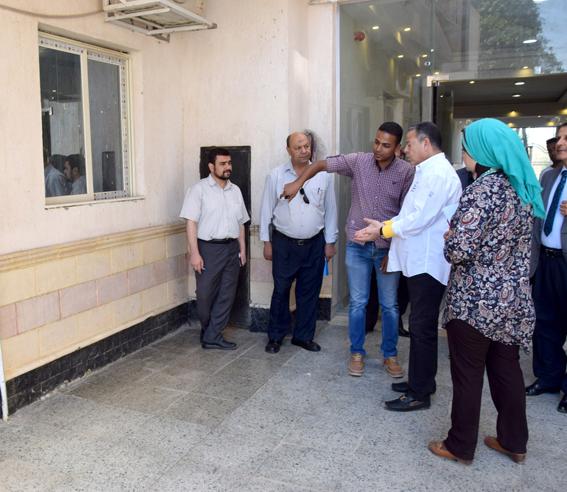 بالصور ... ديوان عام محافظة بني سويف يتأهب للعمل بعد 6 أعوام من حرقة