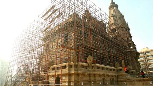 وزارة الاثار: ألوان واجهات قصر البارون إمبان اصلية