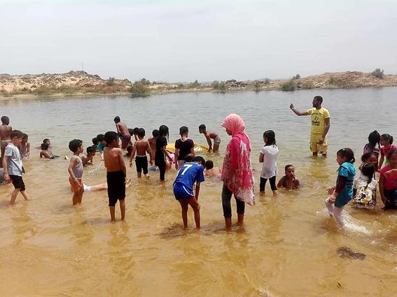 الأسوانيين قضوا ثان أيام العيد بالجزر النيلية