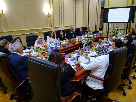 """رئيس """"التخطيط العمرانى"""" يلتقى عددا من المسئولين لمتابعة  """"تدعيم وادارة التنمية فى القاهرة """""""