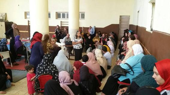 مبادرة الرئيس لصحة المرأة المصرية  ندوة بمركز شباب كرموز