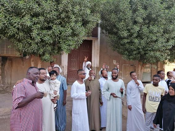 منشية النوبة تجمع صلاة النوبيين خلال العيد بأسوان