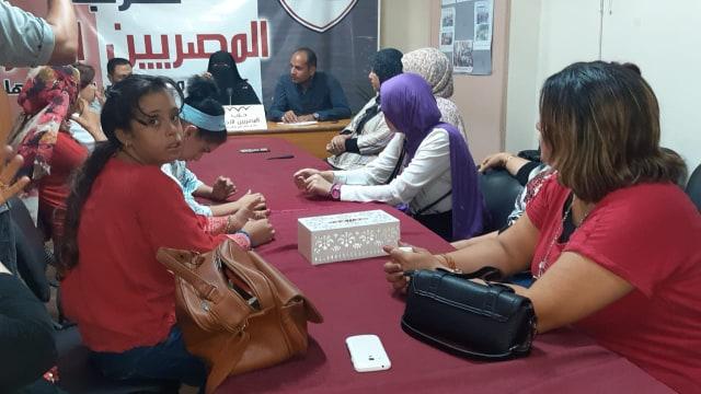 ندوة للدعم و الدمج بين الشباب وذوى الاحتياجات الخاصة  للمصريين الأحرار