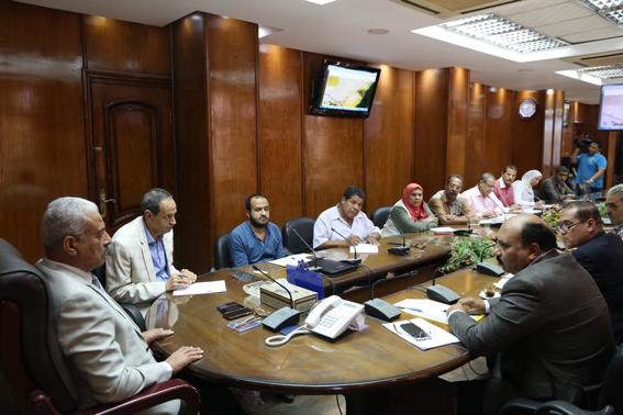 خط مياه الشرب بالعاشر من رمضان يحل مشكلة مدينة السلام بالسويس