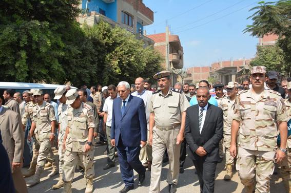 افتتاح مدرسة عرفة عبد المطلب الثانوية الصناعية العسكرية بالدقهلية