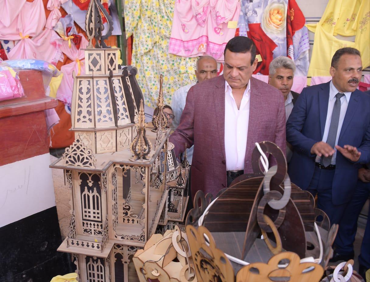 افتتاح المعرض السنوي لمنتجات مدارس التعليم الفني بالبحيرة