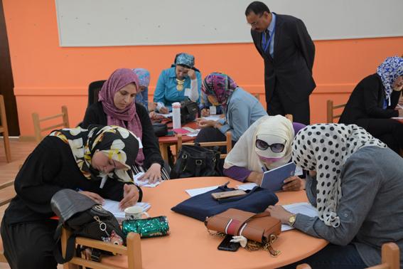 دورات تدريبية لمعلمي مدارس النيل المصرية على أحدث طرق التدريس