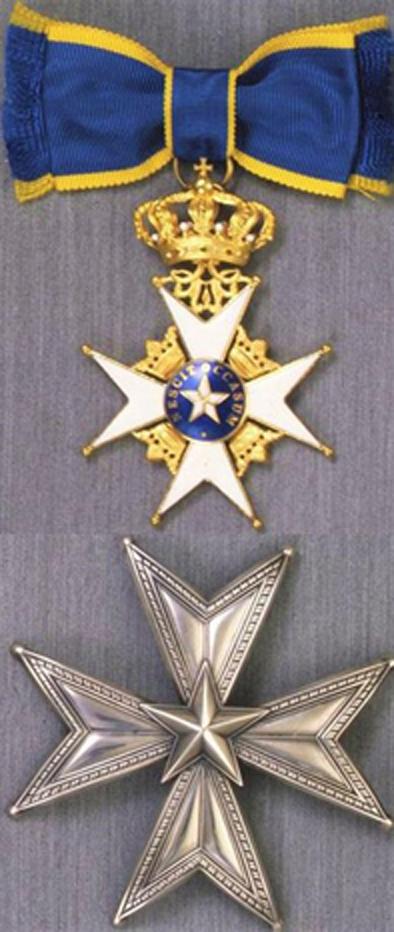 """تقليد عمرو موسى """"وسام النجم الملكي"""" برتبة قائد من ملك السويد"""