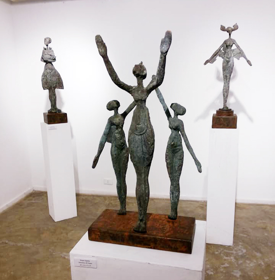 """الفنان جرجس الجاولي يجسد المرأة في """"بهية"""""""