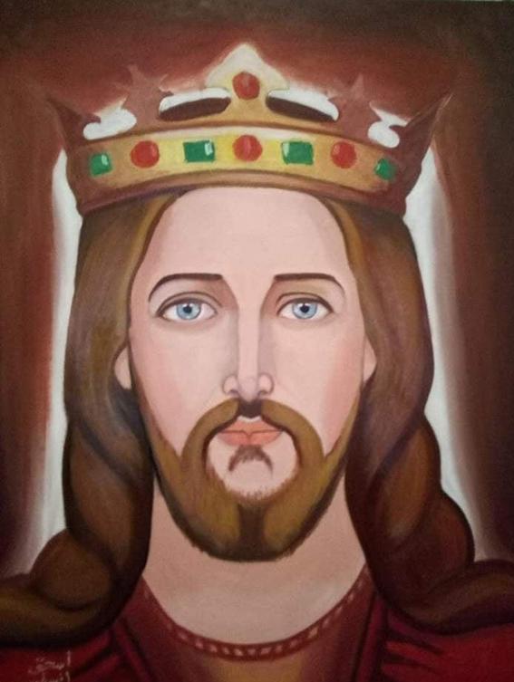 """""""إسحق"""" من المقاولات إلى الرسم بالكنائس: بحلم بالعالمية"""