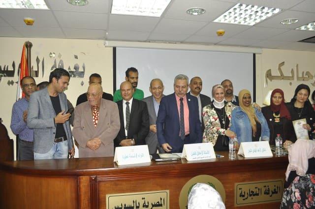 """المصريين الأحرار بالسويس يواصل  مبادرة """"وعيك يحميها """" لنشر الوعى الأمني والفكرى"""