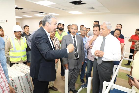 قبل افتتاحها.. شاهد تفاصيل  المنطقة التكنولوجية بمدينة السادات