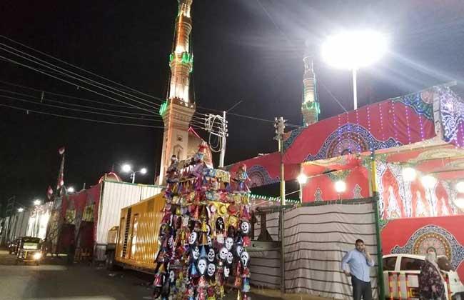 """توافد أتباع الطرق الصوفية للاحتفال بمولد """"السيد البدوي"""" بطنطا"""