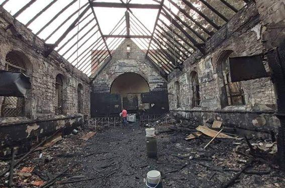 تعرف على تاريخ كنيسة حلوان المحترقة
