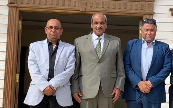 وزير الأشغال العامة والإسكان الفلسطينى يزور العاصمة الإدارية الجديدة