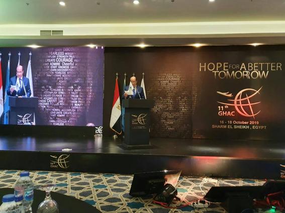 مصر تستضيف الاجتماع السنوي الـ 11لمؤتمر للطيران الإنساني ال  GHAC بشرم الشيخ