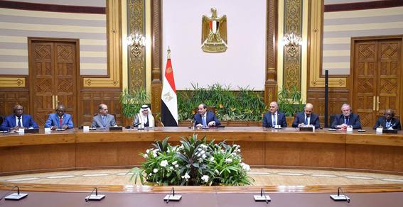"""الرئيس """"السيسي"""": مصر تبذل مساعٍ حثيثة للخروج من تعثر مفاوضات سد النهضة"""