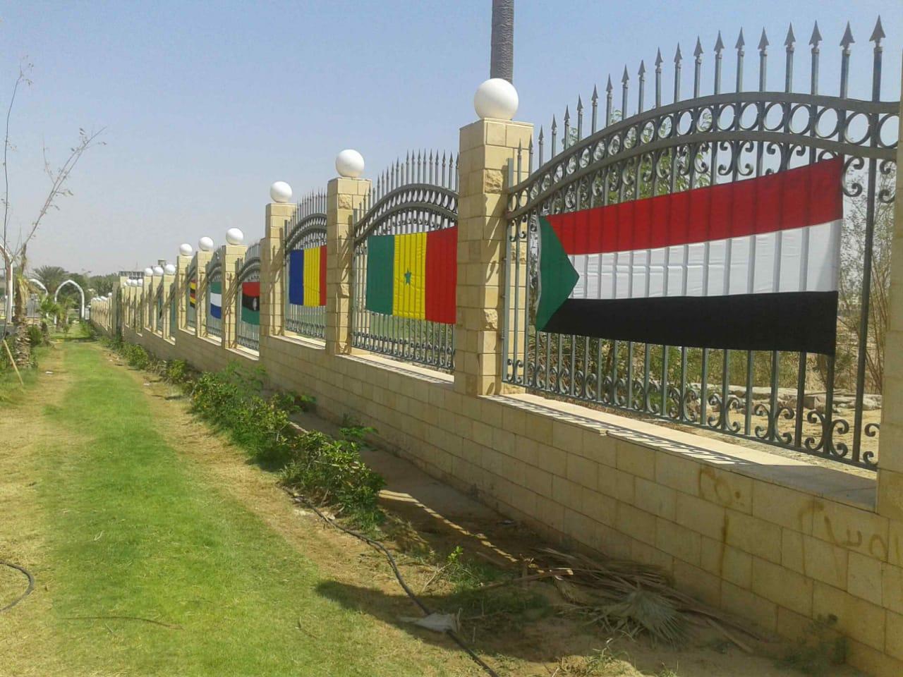 جامعة أسوان تزينت لإنطلاق فاعليات أسبوع الجامعات الأفريقية الأول