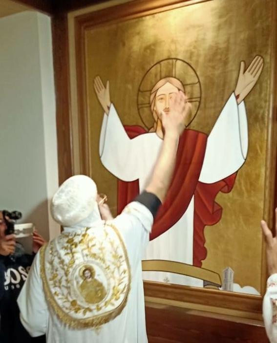 البابا تواضروس الثاني يدشن كاتدرائية السيدة العذراء مريم والآبا الرسل بلوفان - بيلچيكا