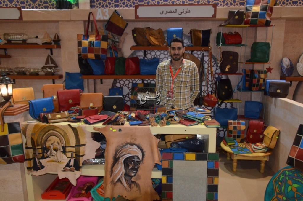 """معرض"""" تراثنا """"...قبلة الحرف اليدوية وأمال لإحياء التراث المصري"""