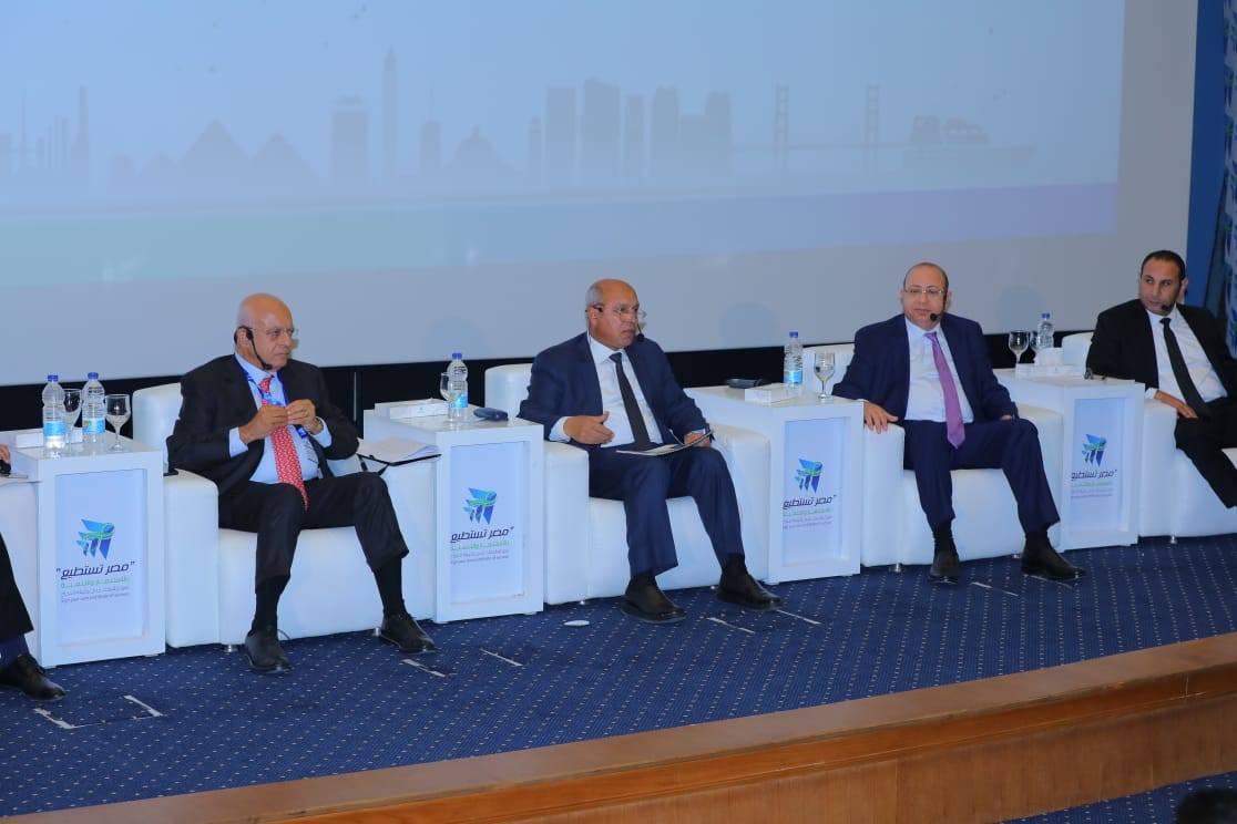 """كلمة وزير النقل  في جلسة دعم المناطق اللوجيستية والبنية التحتية بمؤتمر """"مصر تستطيع"""""""