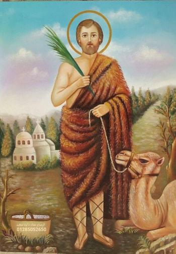 """""""عماد"""" رسام كنائس سوهاج : الفضل يرجع لربنا في موهبتي"""