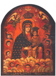 تدشين كنيسة القديسة مريم العذراء بجبل قوسقام