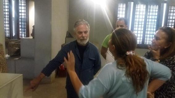 المتحف القبطي يستقبل السفير البرازيلي