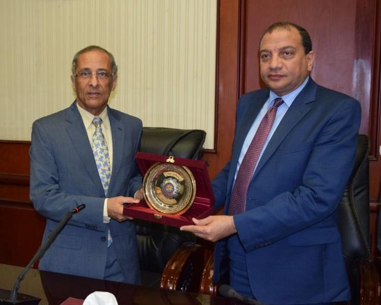 بروتوكول تعاون بين جامعة بني سويف ووكالة الفضاء المصرية