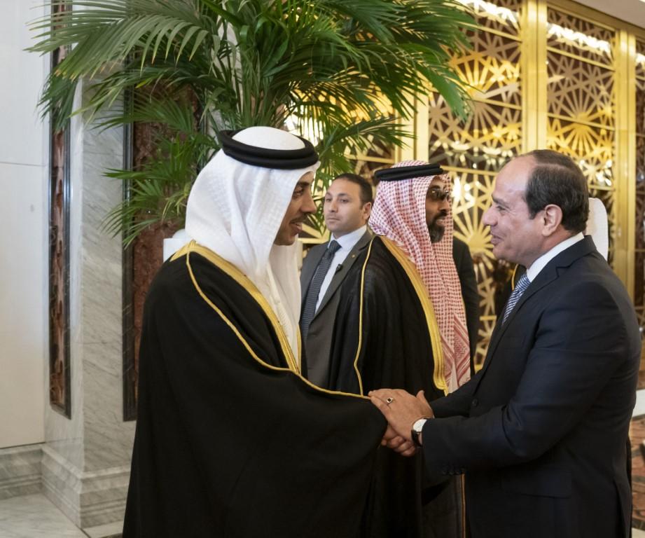 """ولي عهد أبوظبي يستقبل الرئيس """"السيسي"""".. اليوم"""