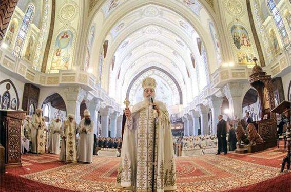 تذكار مرور سنة على تدشين الكاتدرائية في يوبيلها الذهبي