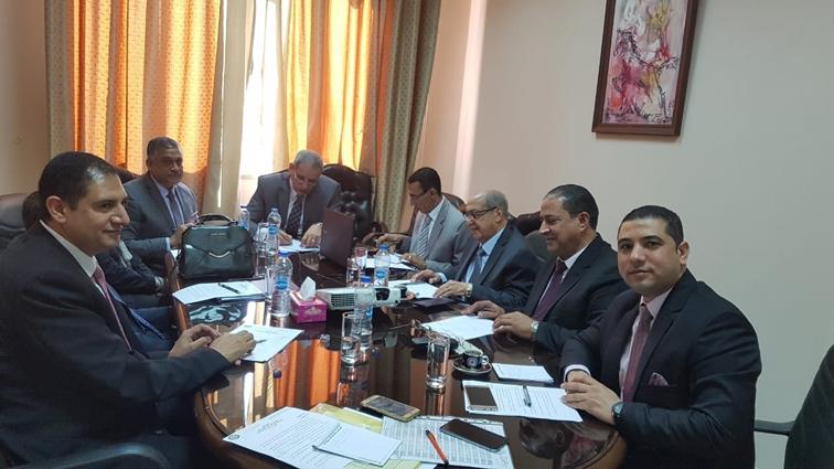 جامعة المنيا تعرض خطتها لمحو الأمية بالمجلس الأعلى للجامعات