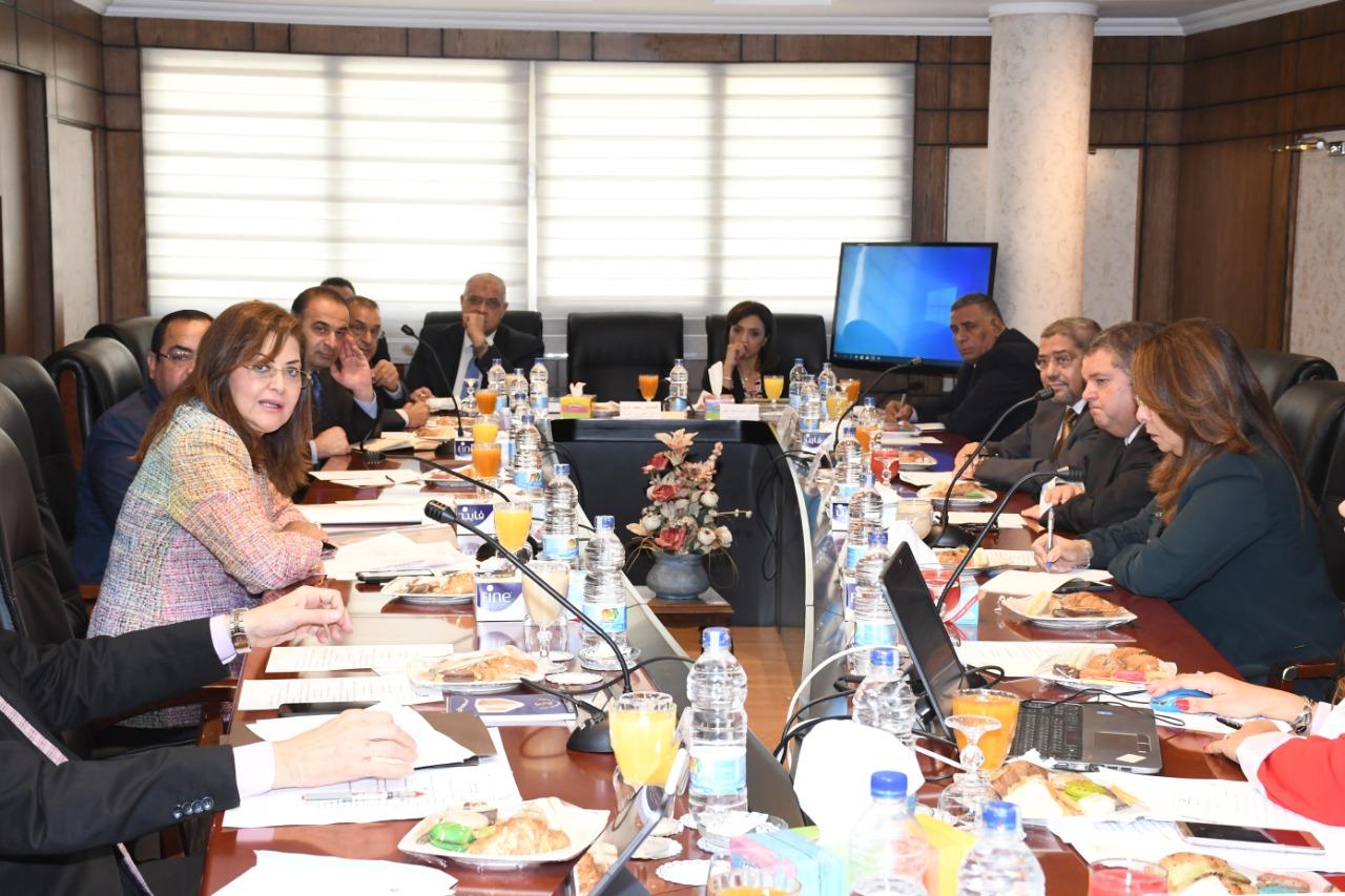 وزيرة التخطيط تعقد الاجتماع الأول للمجلس القومي للأجور