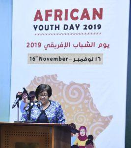 وزيرة التضامن تشارك في الاحتفال بيوم الشباب الافريقي بالهلال الأحمر المصري