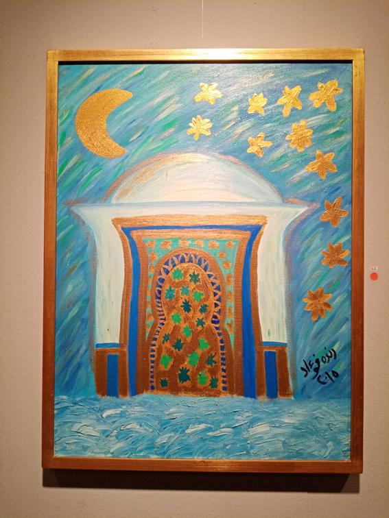 """""""فانتازية"""" الفنانة راندا فؤاد في معرض بدار الأوبرا"""