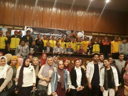 محمود الصبروط يشارك بالملتقى الخامس للشباب في القليوبية