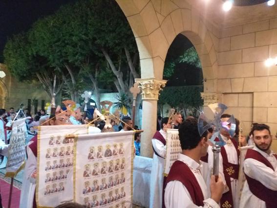 البابا يشهد احتفال البطرسية بالذكرى الثالثة لشهداء البطرسية
