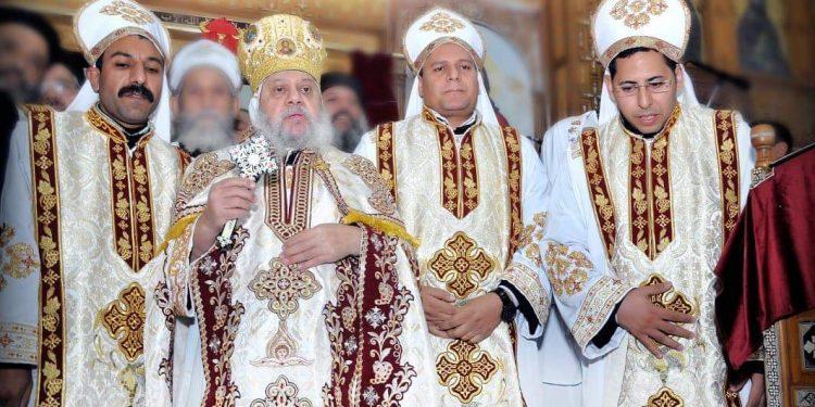 سيامة ثلاثة كهنة لإيبارشية أبوتيج وصدفا والغنايم