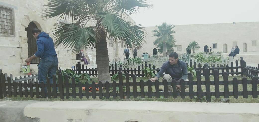 الانتهاء من 85% من أعمال الصيانة والترميم لقلعة قايتباي بالإسكندرية