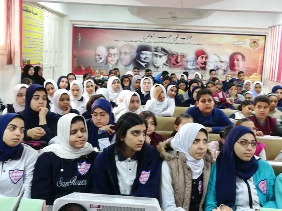 عقد ندوات تعريفية لتوعية طلاب المدارس بتاريخ محافظة البحيرة