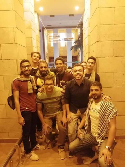 قطار الشباب يتوقف بمحطة متحف النيل بأسوان