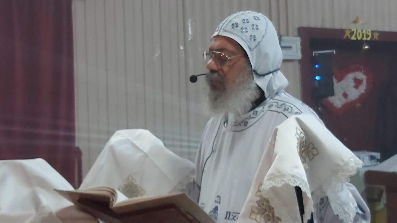 إقامة أول قداس بعد عودة الأب يوحنا بجورجيا