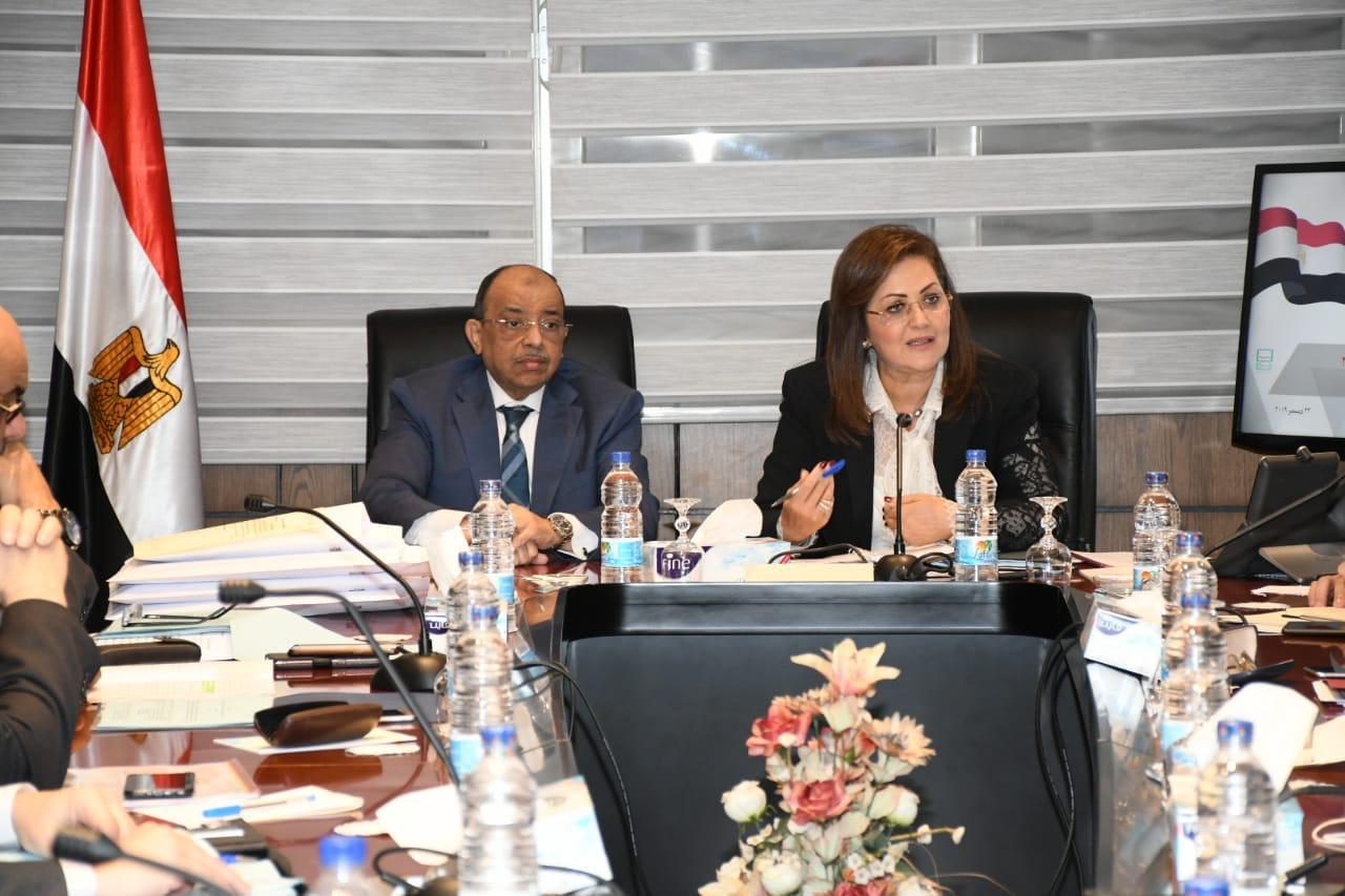 """وزيرا التخطيط والتنمية المحلية يبحثان آخر مستجدات مبادرة """"حياة كريمة"""""""