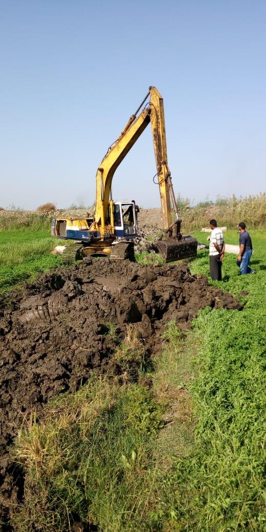 الري تنجح في إزالة 480 حالة تعد على نهر النيل والمجاري المائية على مدار اسبوع