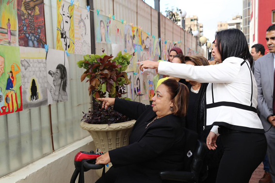 """بالصور ..  """"القومى للمرأة"""" و""""القومى للإعاقة"""" يشاركان بإحتفالية ختام حملة الـ 16"""" يوم""""  لمناهضة العنف ضد المرأة"""
