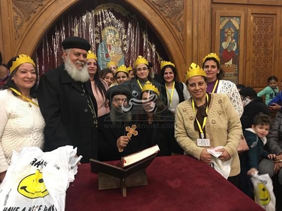 توزيع جوائز مهرجان الكرازة بإيبارشية حلوان والمعصرة