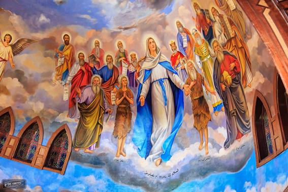 شاهد.. 30  صورة من كنيسة العذراء التي افتتحها البابا تواضروس في سوهاج