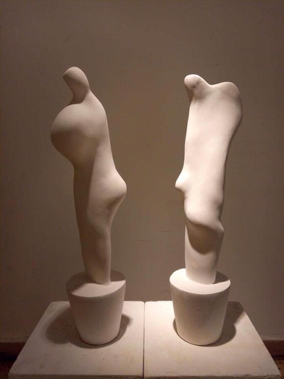 """""""إشراقات نحتية"""".. معرض فني لحسام السيد"""