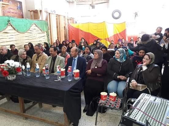 وفد من حزب الوفد يزور كنيسة السيدة العذراء بدرب العيد
