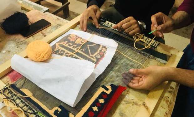 طلاب معهد ترميم الأثار ينظمون معرض القباطي وعرض 50 قطعة فنية من النسيج وطنى